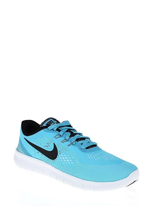 Nike Nıke Free Rn (Gs) Mavi